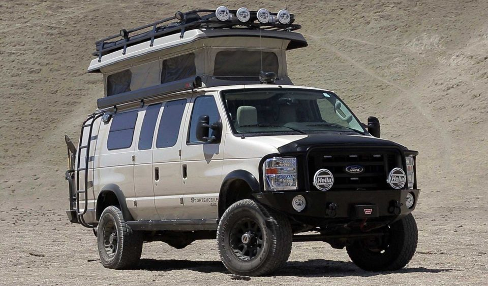 Sportsmobile 4x4 For Sale >> Stealth Campers and DIY RVs: 15 Creatively Converted Vans | Urbanist