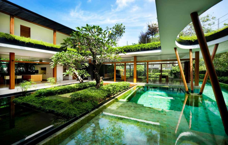 Green House 17 Residential Designs Intertwined With Nature Urbanist