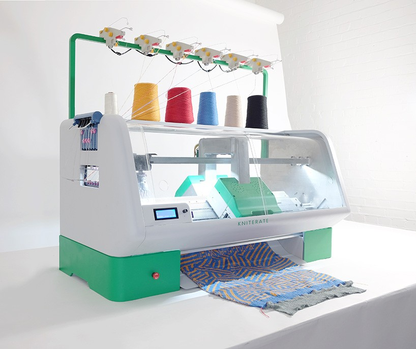 Digital Knitting Machine: Kniterate Is A 3D Printer For