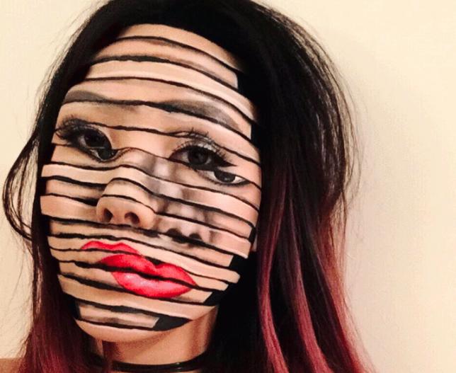 trippy transformations makeup artist creates unreal 3d illusions