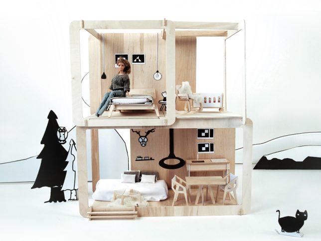 modern miniature furniture. Dollhouse Modern Furniture. It\\u0027s Unlikely That Barbie Ever Has Digs Quite As Cool Miniature Furniture