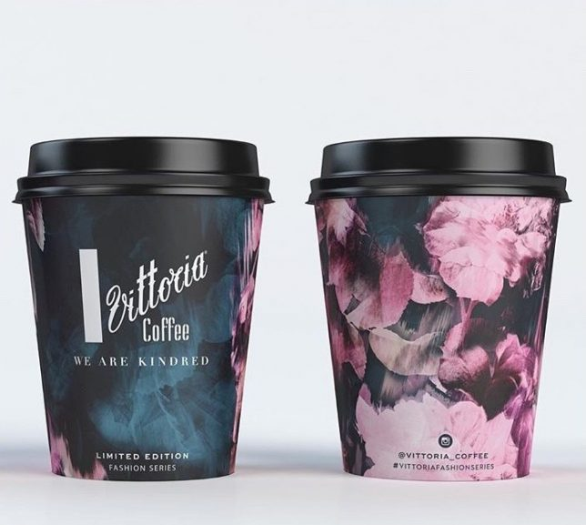 Beautiful Botanical Coffee Cups
