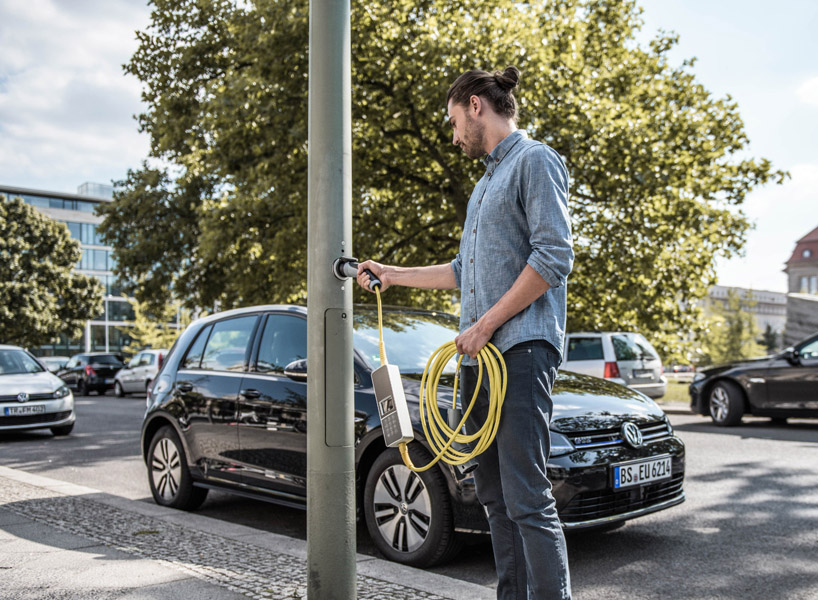 London is converting street lights into electric vehicle charging points