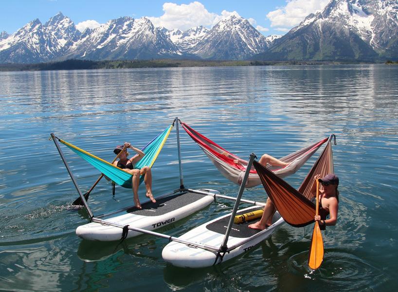 boat hammock hang loose 13 hammock innovations for max relaxation urbanist