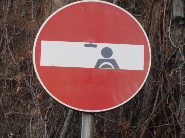 Warming Signs  Clet Abraham Rewrites Rules Of The Road