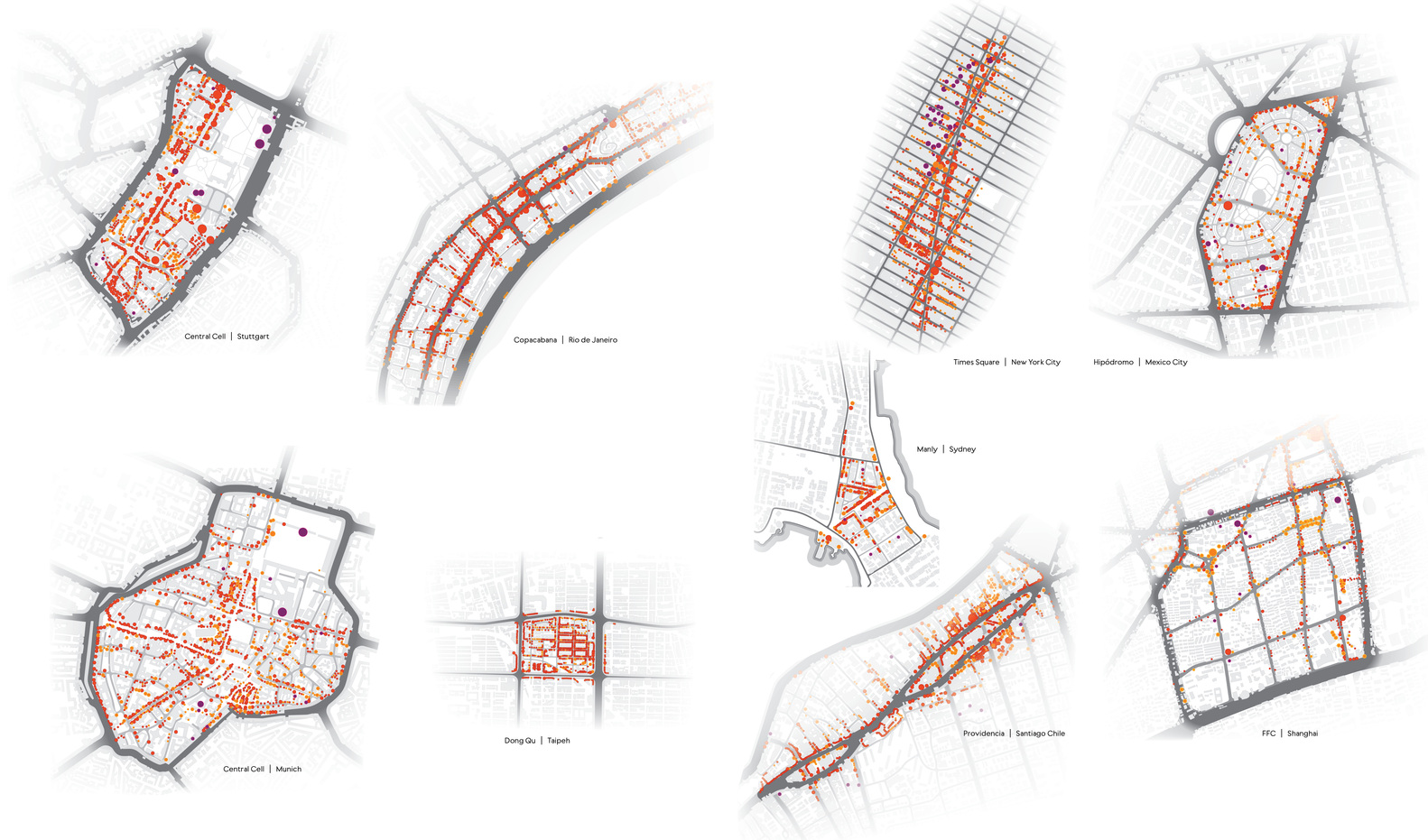Cellular Urbanism: Analyzing the Anatomy of Functional City Block ...