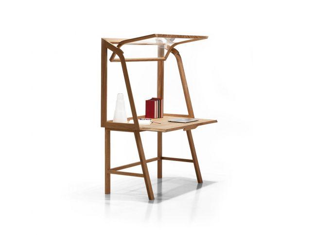 The Downing Street Executive Curio Desk: Work Smarter: 12 Modern Desks Reinvent The Standard Office