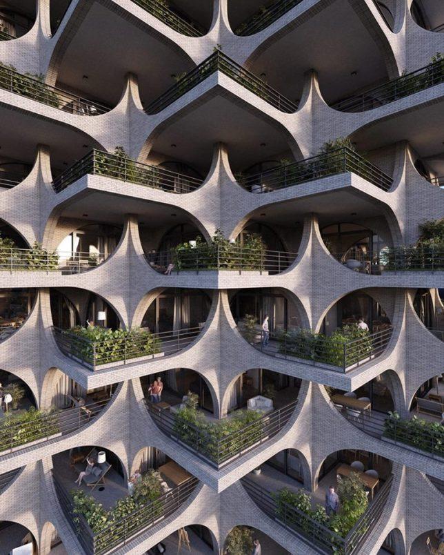 Terraced Balconies Amp Double Helix Bridges Spotlight On
