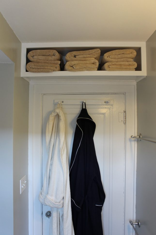 Even The Tiniest Amount Of Vertical Space On Your Wall Offers Untapped  Storage Possibilities, As Shown By These Shelves Placed Above Doorways, ...
