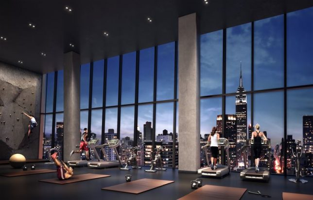 Architects broke a sweat designing these striking gyms
