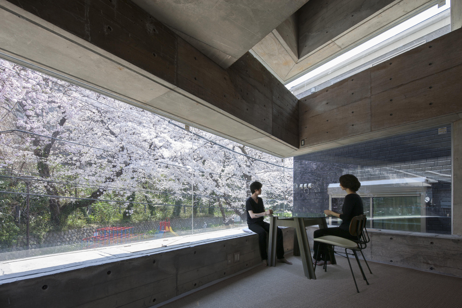 Brutalist Style Lightens Up With Lots Of Glass At Japan S