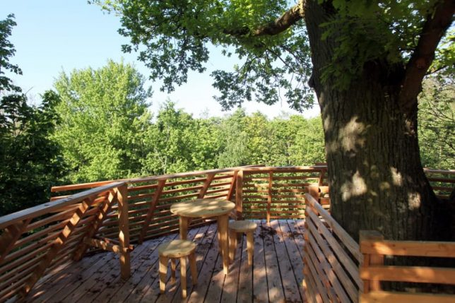 Surprising Origin Tree House Modern Wooden Hotel Room In A French Download Free Architecture Designs Scobabritishbridgeorg