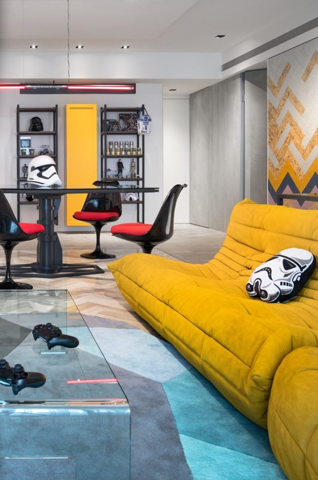 The Force Is Strong In These 10 Immersive Star Wars Themed Interiors