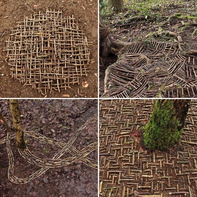 Sticks & Stones: Land Artist Shapes Natural Objects into