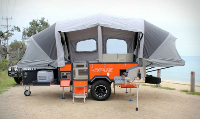 Small Packages: Spacious Pop-Up Camper Self-Inflates in Just