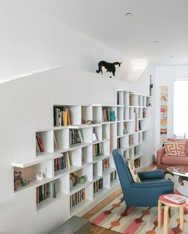 High feline design 10 modern homes with built in cat - What did the wall say to the bookcase ...