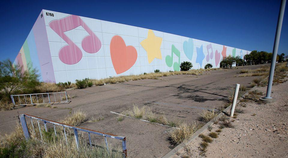 Pretty Abandoned: Tucson's Lisa Frank Factory | Urbanist