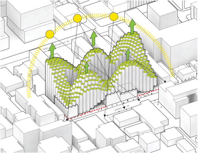 Habitat 2 0 Pixelated Apartment Complex By Big References