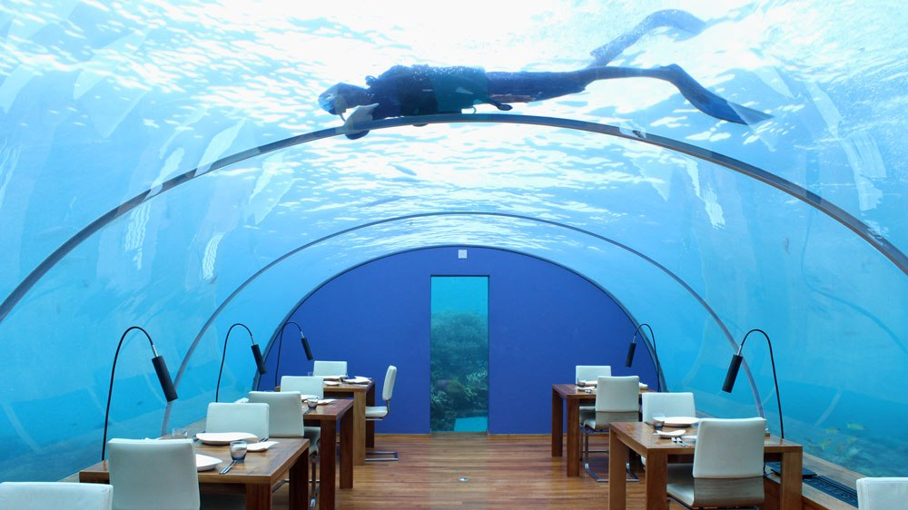 The World S First Underwater Hotel Villa Is Officially Open