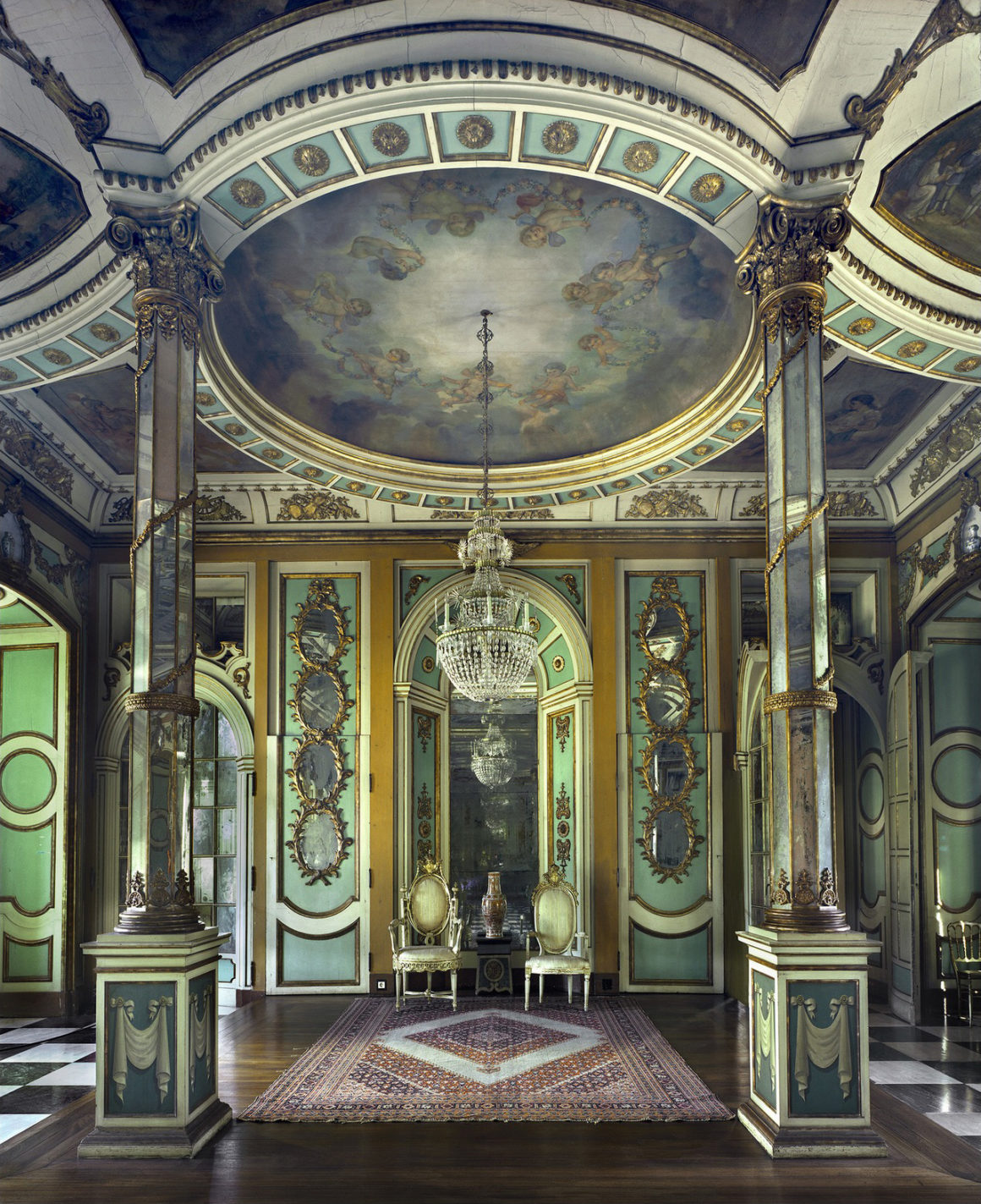 Throne Room, Lisbon 2011 by Michael Eastman