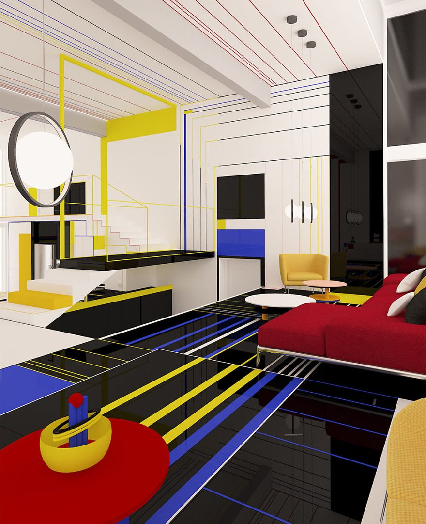 Mondrian Lives On: The Artist's Influence on Architecture ...