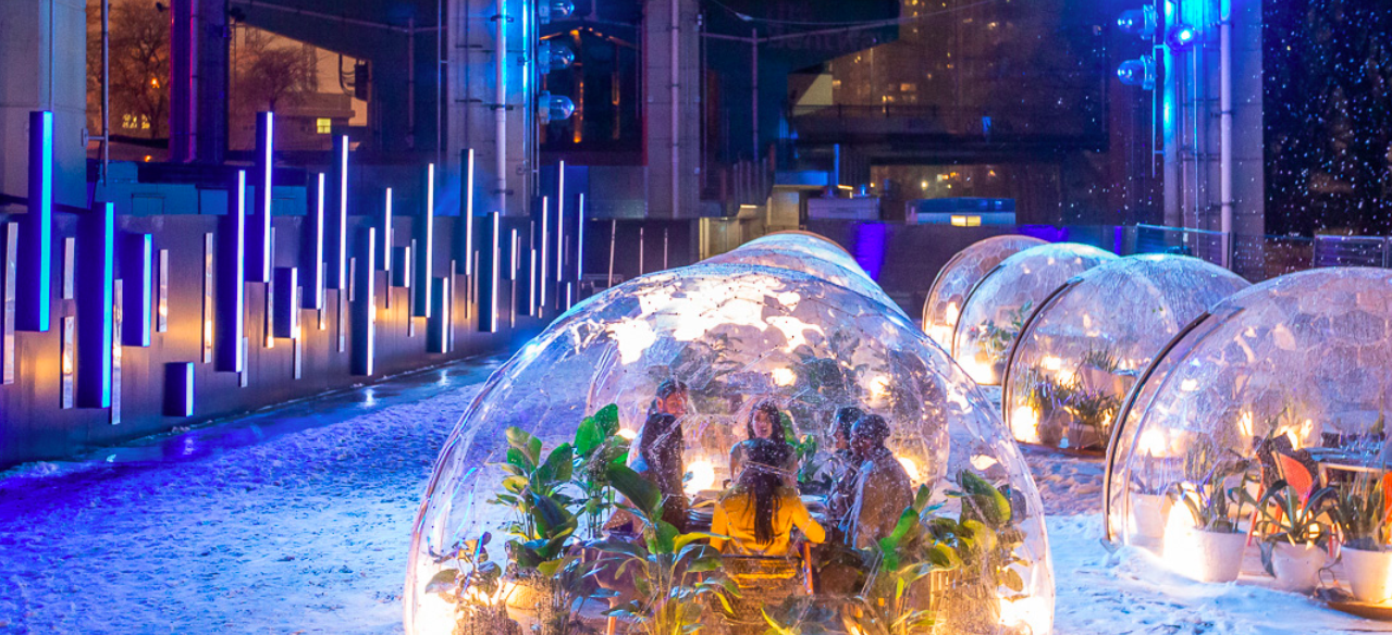 Dome Dining Disaster: When Reclaiming Public Space Goes Wrong