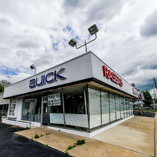 Buick Dealers Nj >> Lot In America: 10 More Abandoned Auto Dealerships | Urbanist