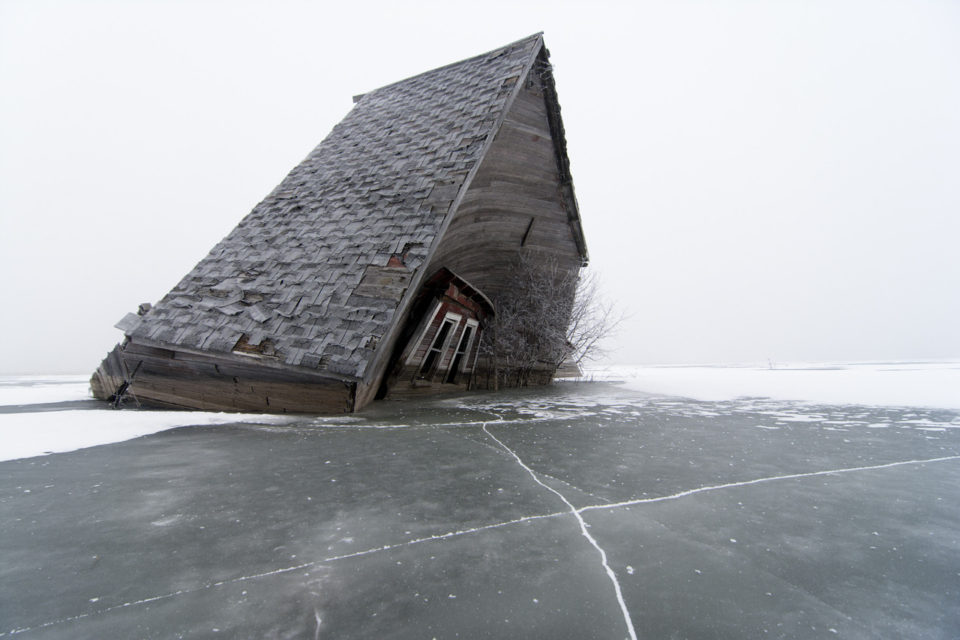 Devils Lake Nd >> Devil S Lake Abandoned North Dakota Town Reclaimed By