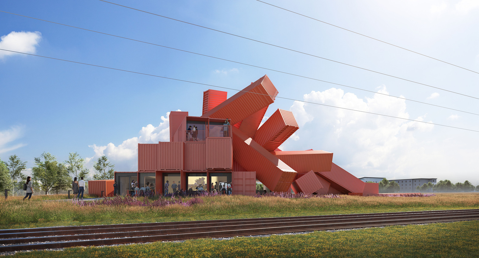 Mach 1 Shipping Container Complex