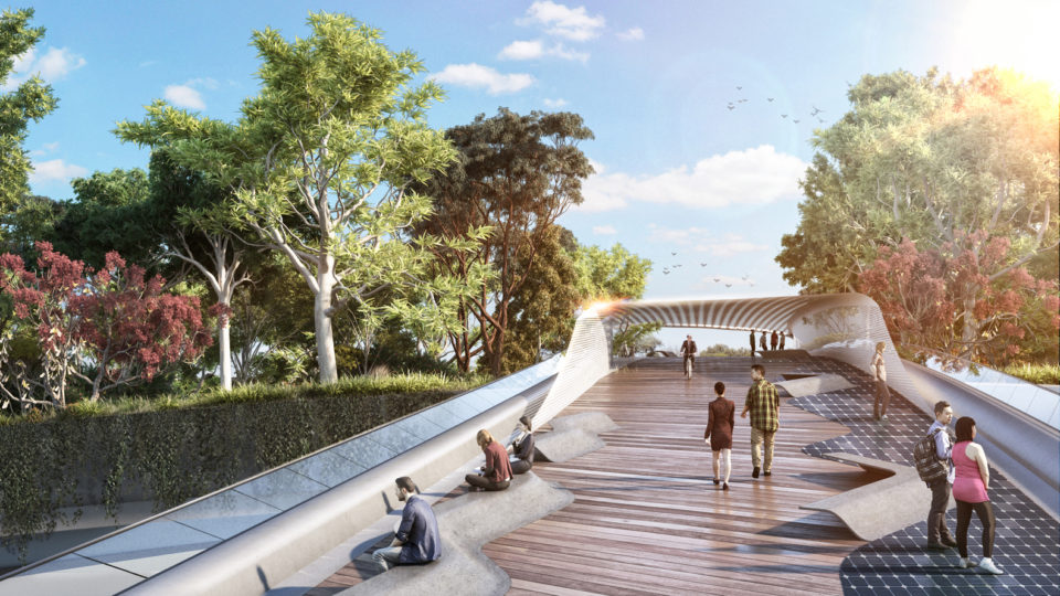 Ribbons Of Life Biodiverse Bridge Doubles As A Wildlife